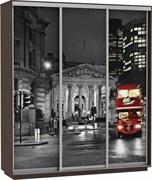 Шкаф-купе 3х дв с фотопечатью Ночной Лондон