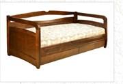 """Кровать """"Омега"""" с выдвижными ящиками"""