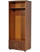 """Шкаф 2-х дверный для прихожей с крючками """"Омега"""""""