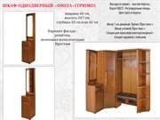 """Шкаф 2-х дверный для прихожей с крючками """"Омега"""" - копия"""